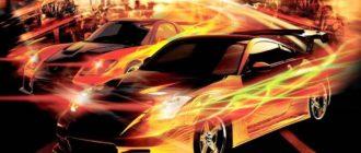 Подборка лучших фильмов о скорости, машинах и уличных гонках