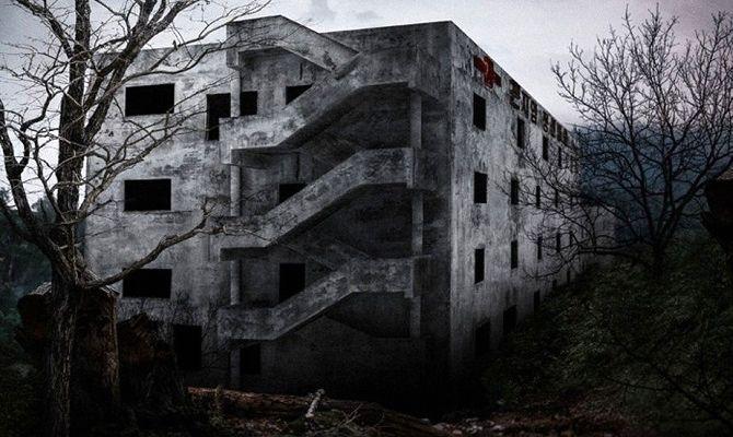 Психиатрическая больница Конджиам, корейский фильм