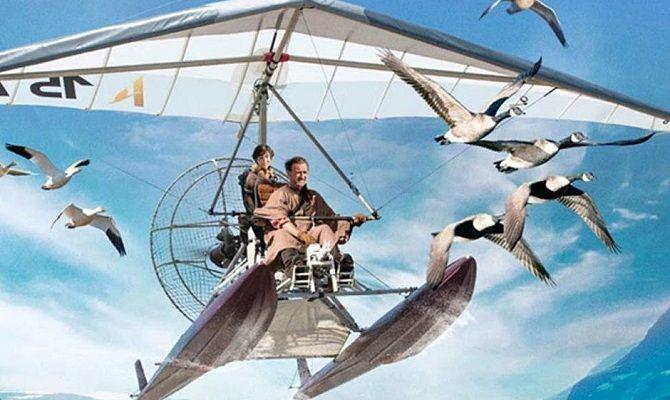 Расправь крылья, семейный фильм
