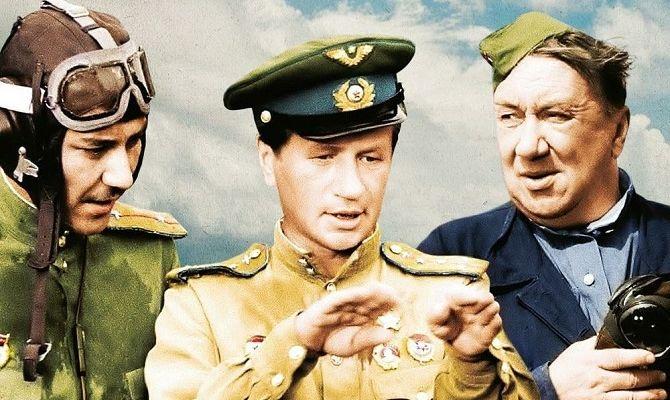 В бой идут одни старики, советский фильм