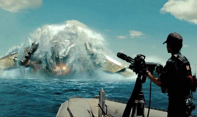 Морской бой, фильм