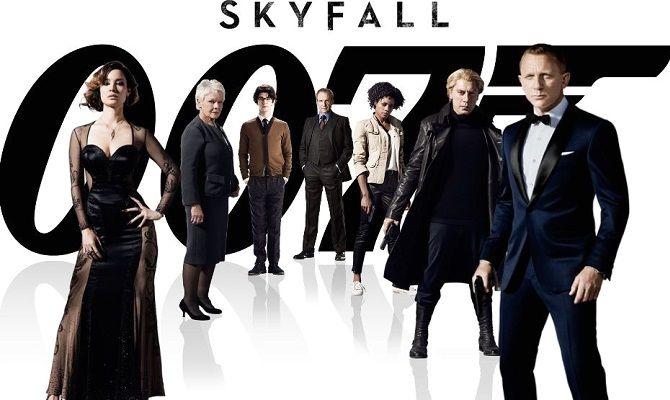 007: Координаты «Скайфолл», фильм