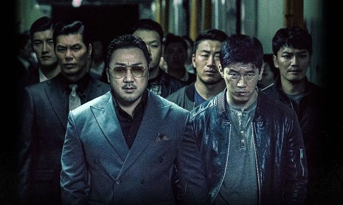 Гангстер, коп и дьявол, корейский фильм