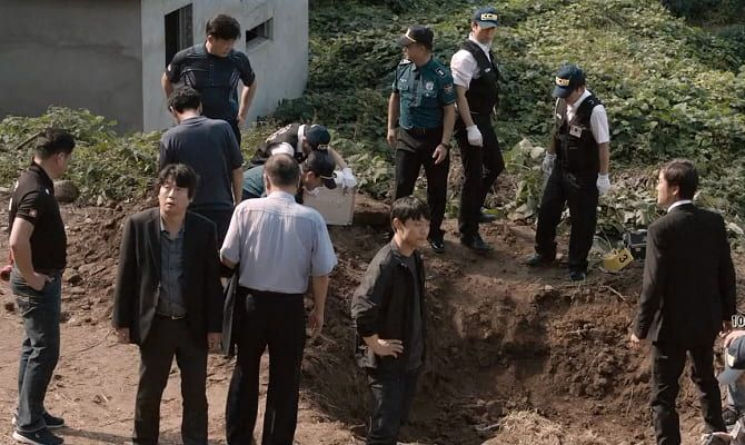 Тень убийства, корейский фильм