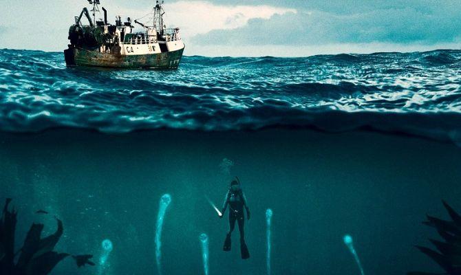 Морские паразиты, фильм ужасов