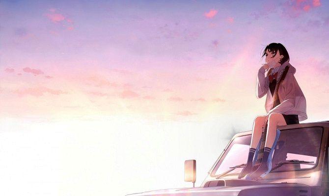 Она видела небо, аниме