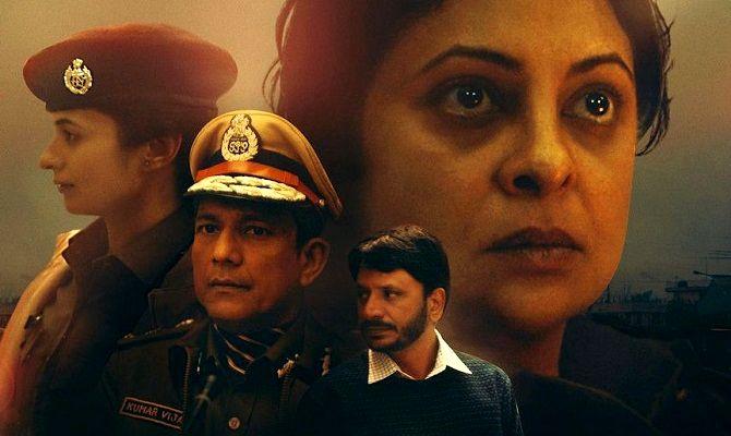Преступление в Дели, сериал