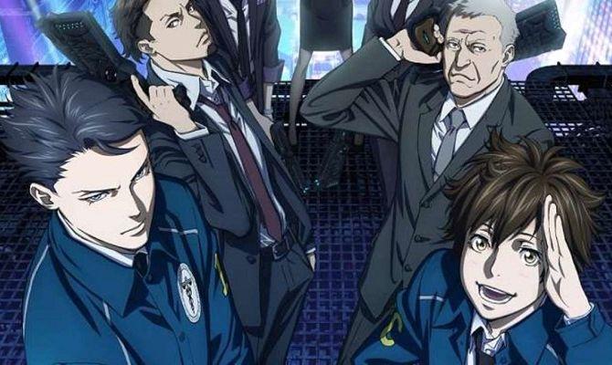 Психопаспорт 3: Первый инспектор, аниме