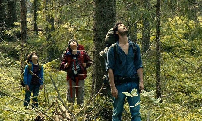 В лесу, фильм