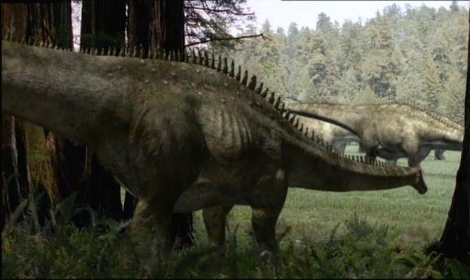 BBC: Прогулки с динозаврами, сериал