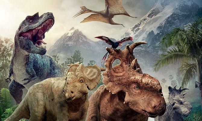 Прогулки с динозаврами 3D, фильм