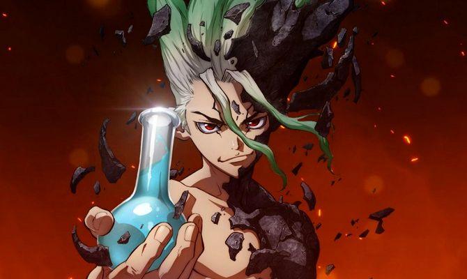 Доктор Стоун: Каменные войны, аниме