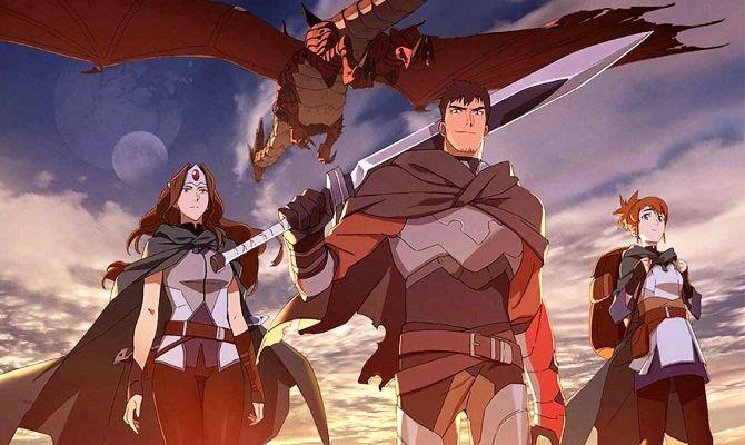 DOTA: Кровь дракона, аниме