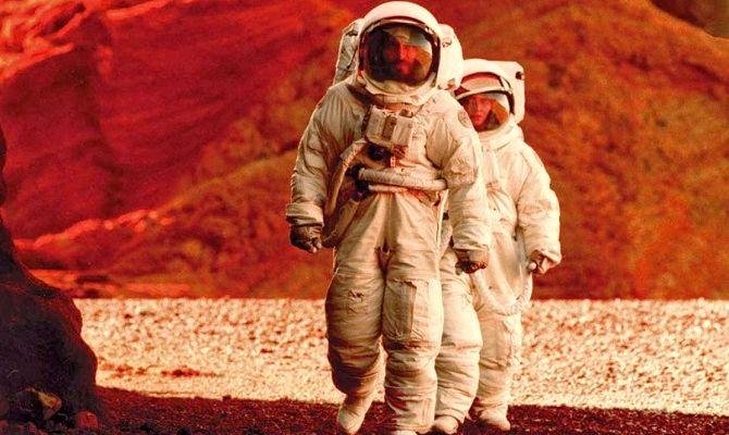 Марсианская одиссея, фильм