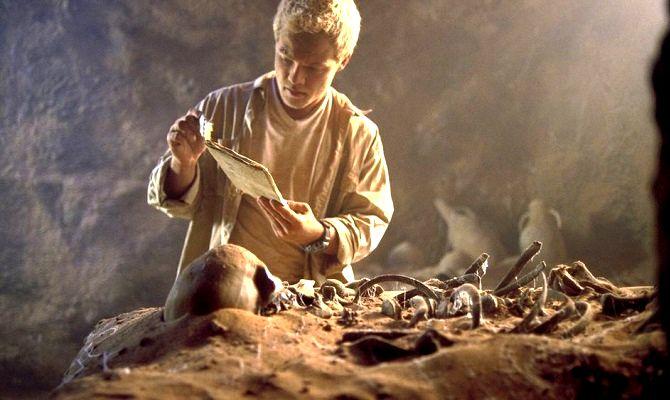В поисках древней гробницы, фильм