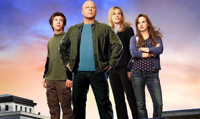 Необычная семья, сериал