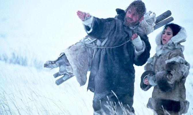 Потерянный в снегах, фильм