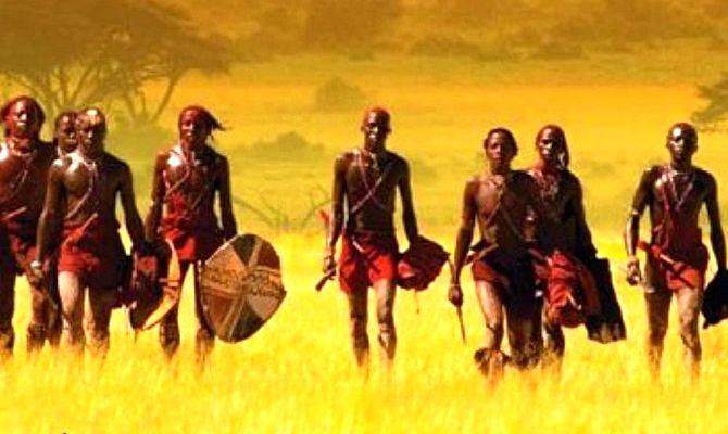 Масаи – воины дождя, фильм