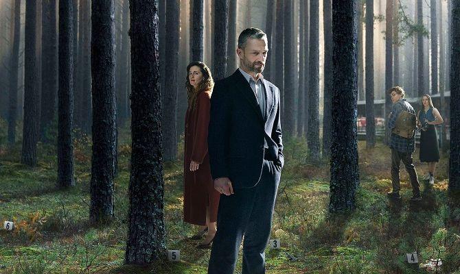 В густом лесу, сериал